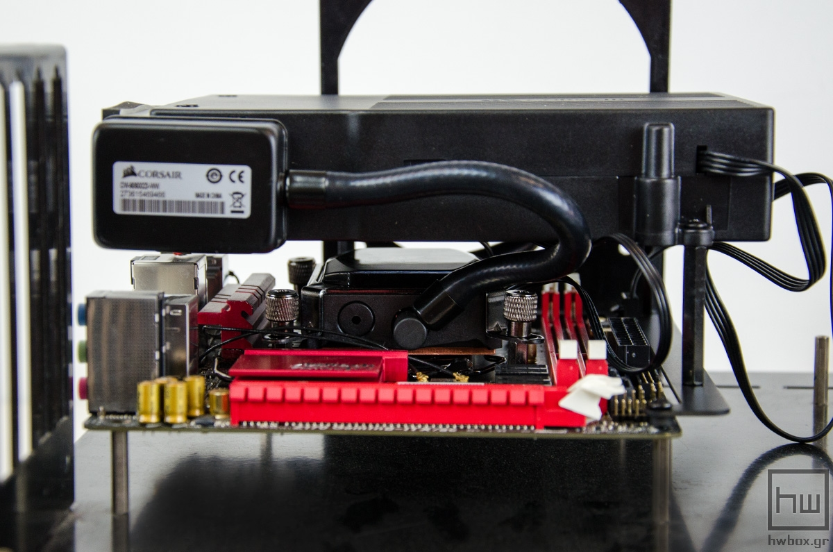 Corsair H5 SF Review: The different cooler