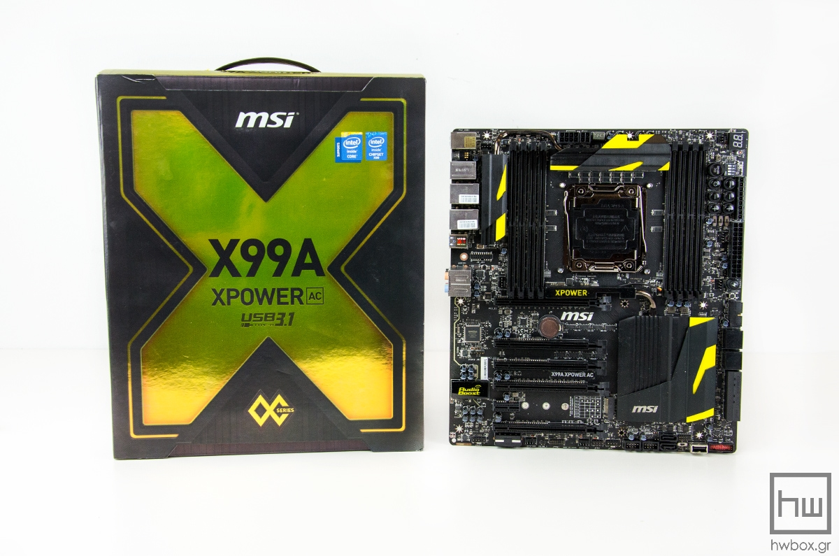 MSI X99A XPOWER AC Review: The OC power in your hands