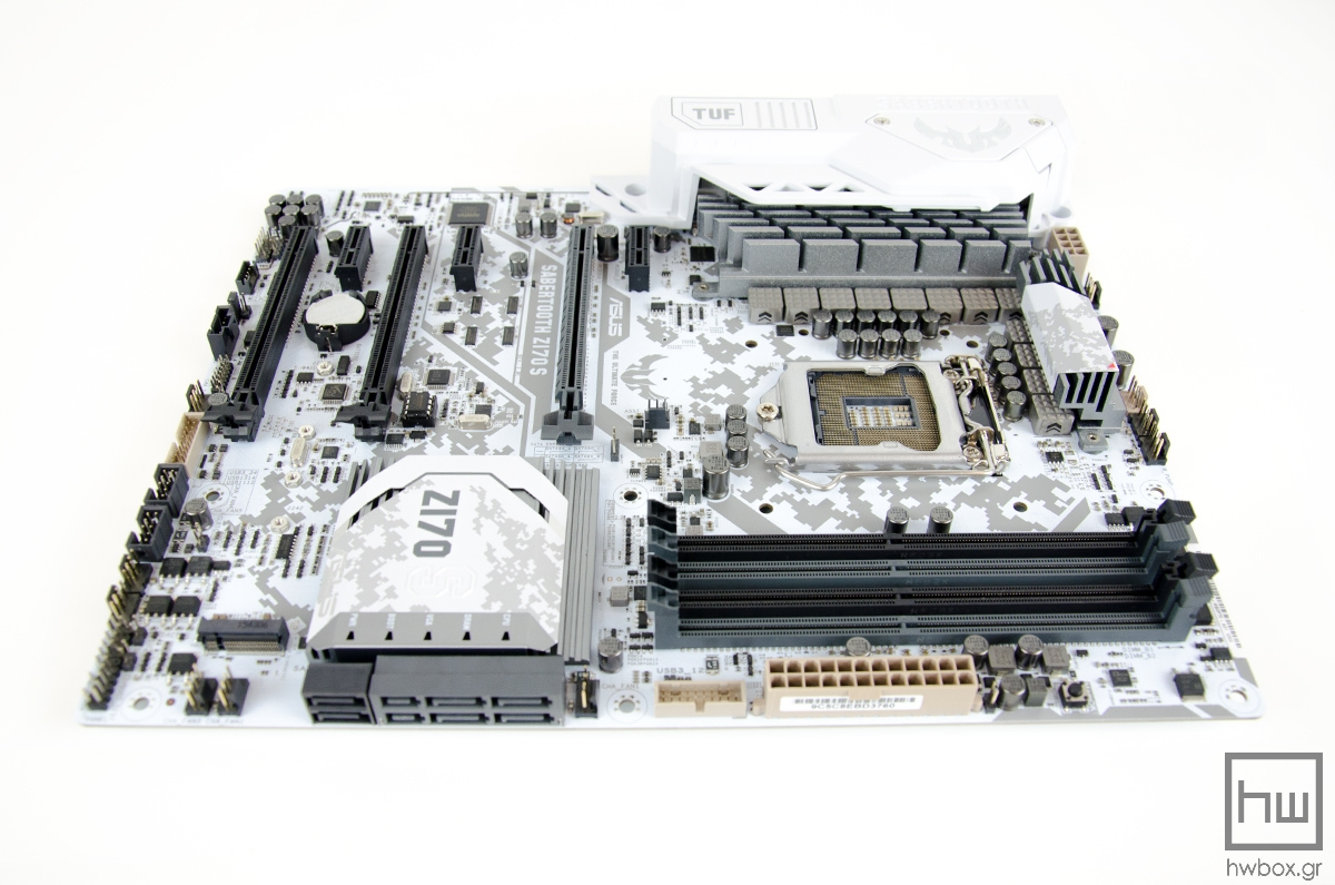ASUS Sabertooth Z170 S Review: Light, yet TUF