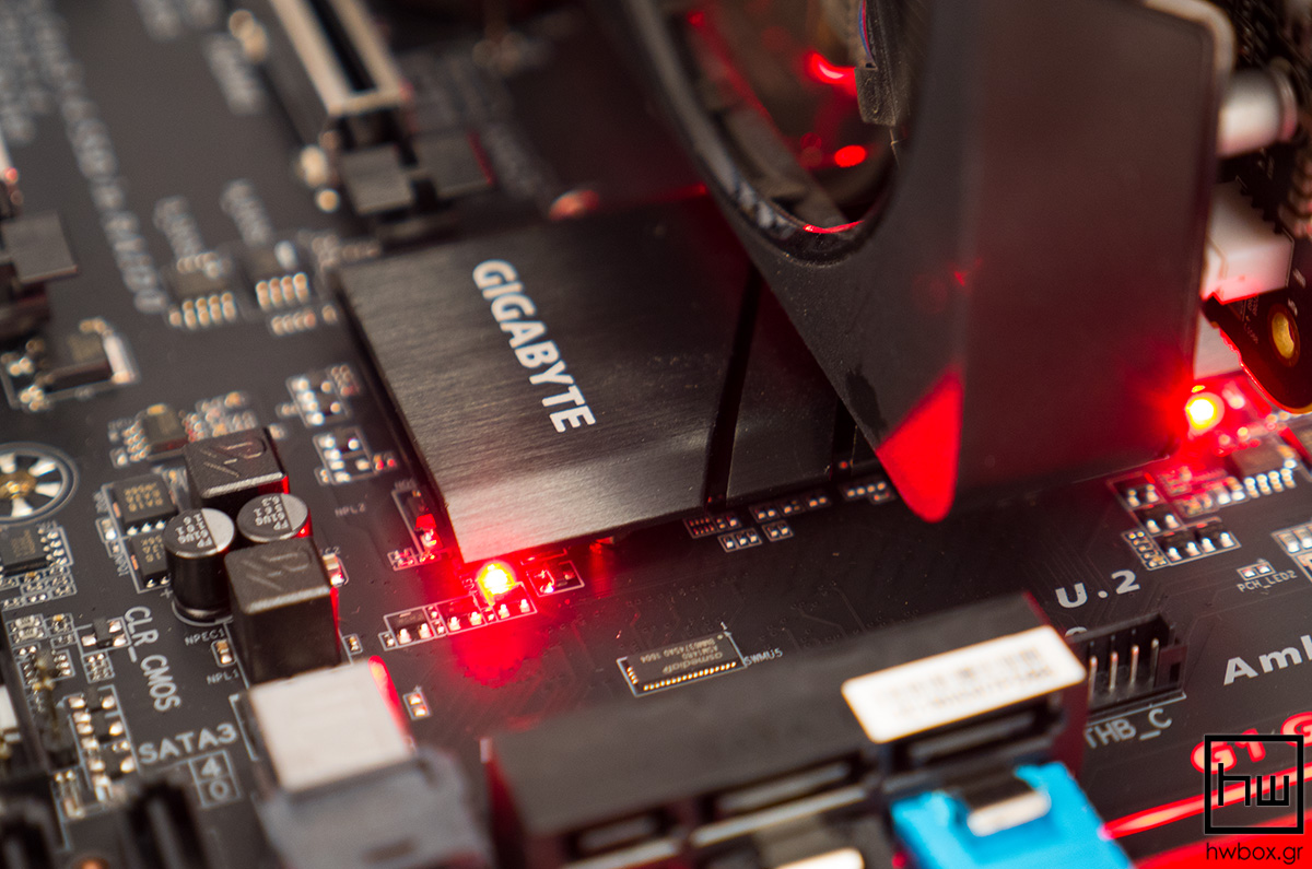 Gigabyte Z170X-Ultra Gaming Review: The dark side