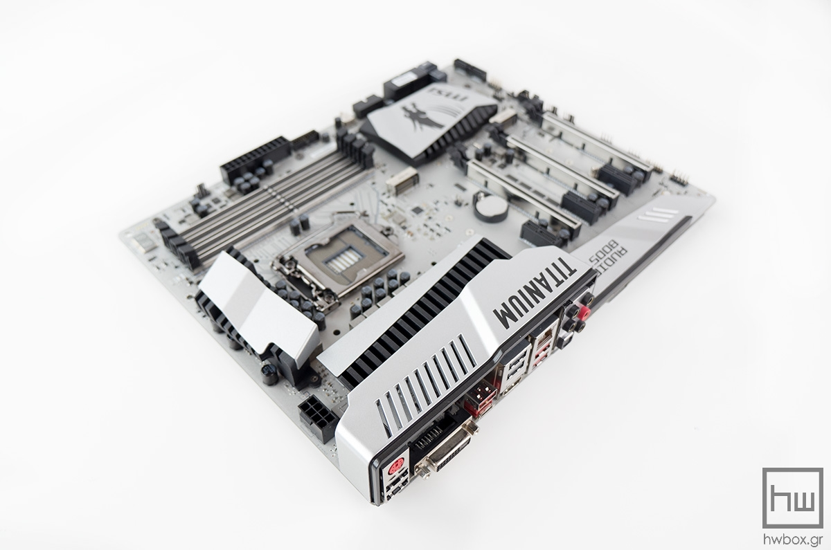 MSI Z170A MPower Gaming Titanium Review: The silver Dragon