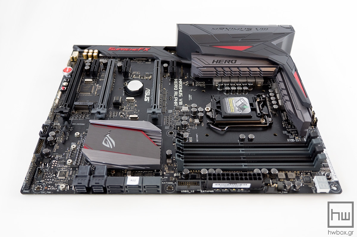 ASUS Maximus VIII Hero Alpha Review: A step forward