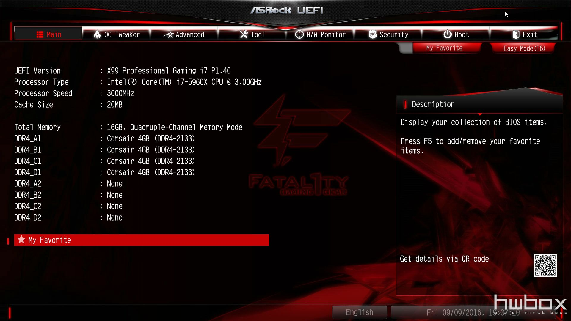 ASRock  Fatal1ty X99 Gaming i7 Review