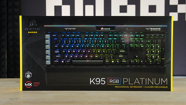Corsair K95 RGB Platinum Keyboard Review