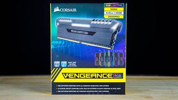 Corsair Vengeance RGB 3000 C15 32GB 4x8GB Review