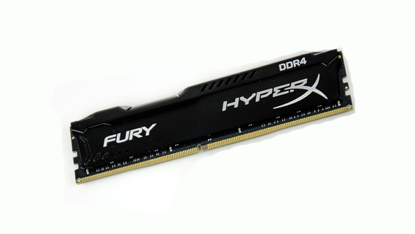 HyperX Fury Black 2666 MHz CL15 2x8GB Review: Mem in Black