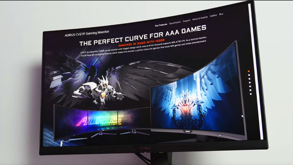 AORUS CV27F 165Hz Gaming Monitor Review