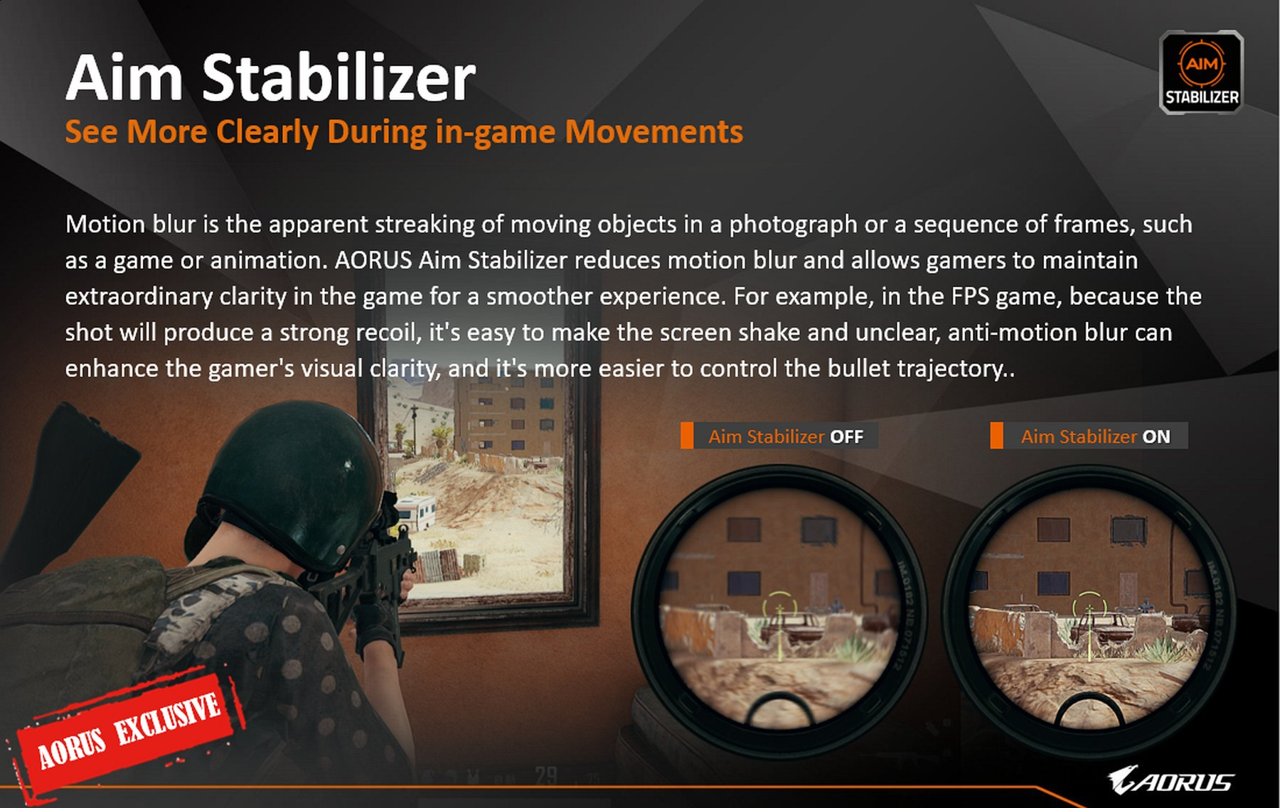 aim stabilizer