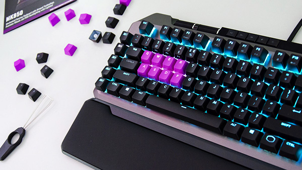Cooler Master MK850 Analog Gaming keyboard Review