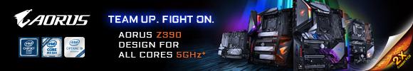 Gigabyte Aorus Z390 Series