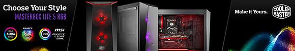 Coolermaster MasterBox Lite 5 RGB